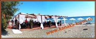 Пляжный комплекс Сан-Тропе ресторана Черная жемчужина.