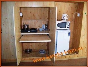 Мини-кухня и ее оборудование.