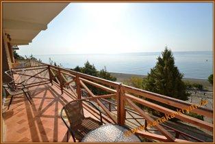 Апартаменты с видом на море по варианту 49-Б комплекса ЭКО-ВИЛЛАДЖ в Канаке.